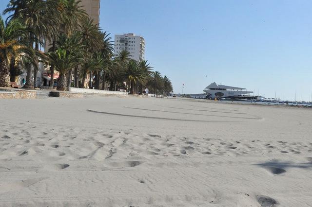 San Javier beaches: Playa El Pescador