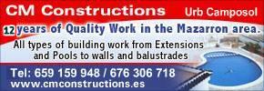 CM Construction Camposol & Mazarron
