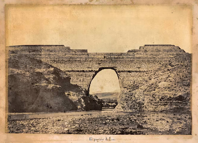 Collapse of the Puentes dam in Lorca (1802)