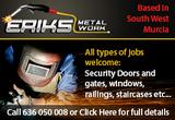 Eriks Metal Work Murcia Area