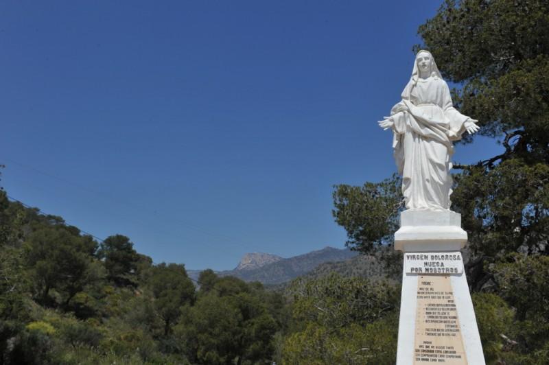 Sierra Espuña walking routes, the PR-MU 65 from La Santa in Totana to Aledo