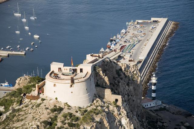 Castillo de San Juan de las Águilas in Águilas