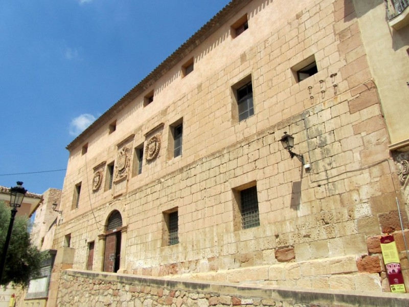 The Pósito de los Panaderos, the old grain store and meat and bread market of Lorca