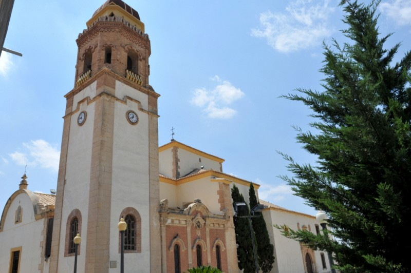 The convent and church of the Virgen de las Huertas in Lorca