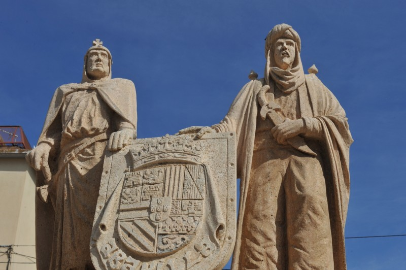 The monument to the Moors and the Christians in Abanilla