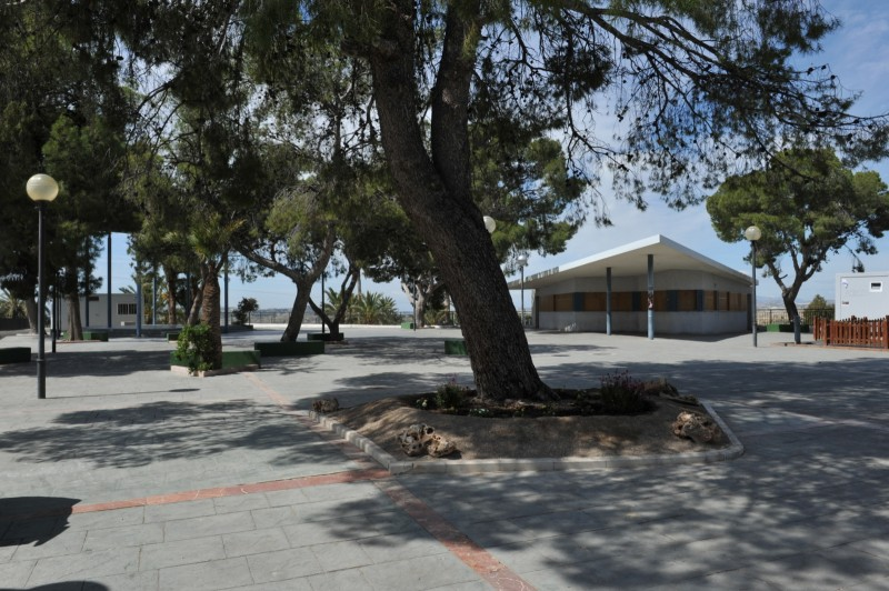 The Parque de la Ermita in Abanilla