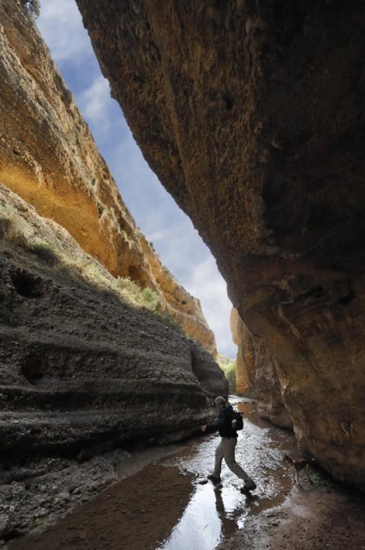 The source of the River Chícamo, a 3-kilometre walk in Abanilla