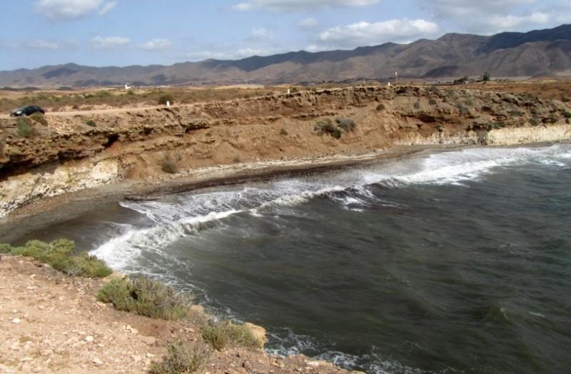 Lorca beaches: Playa Larga
