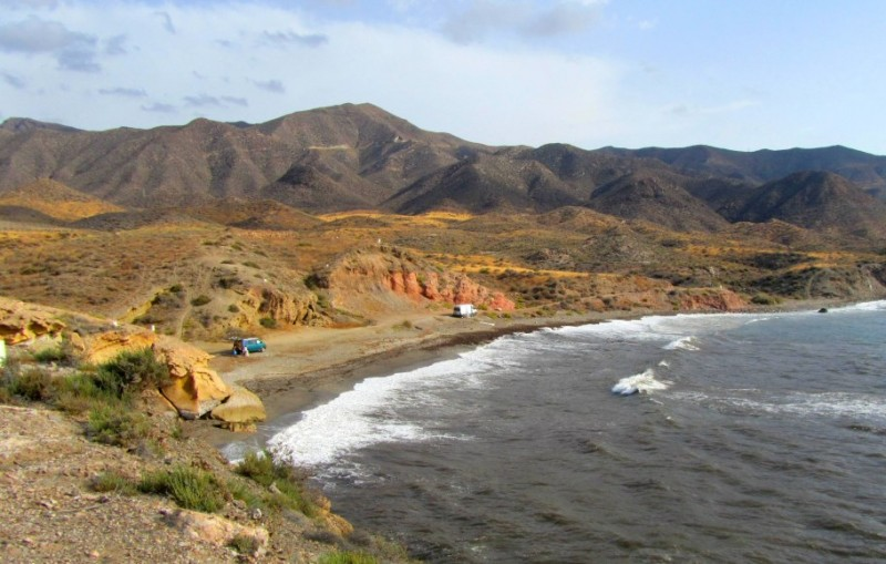 Lorca beaches: Playa de los Hierros