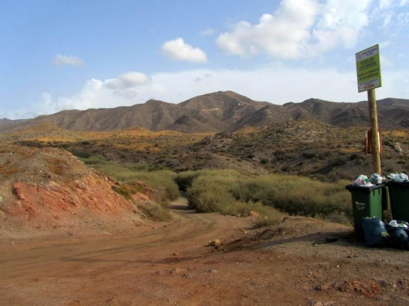 Lorca beaches: Playa de los Hierros