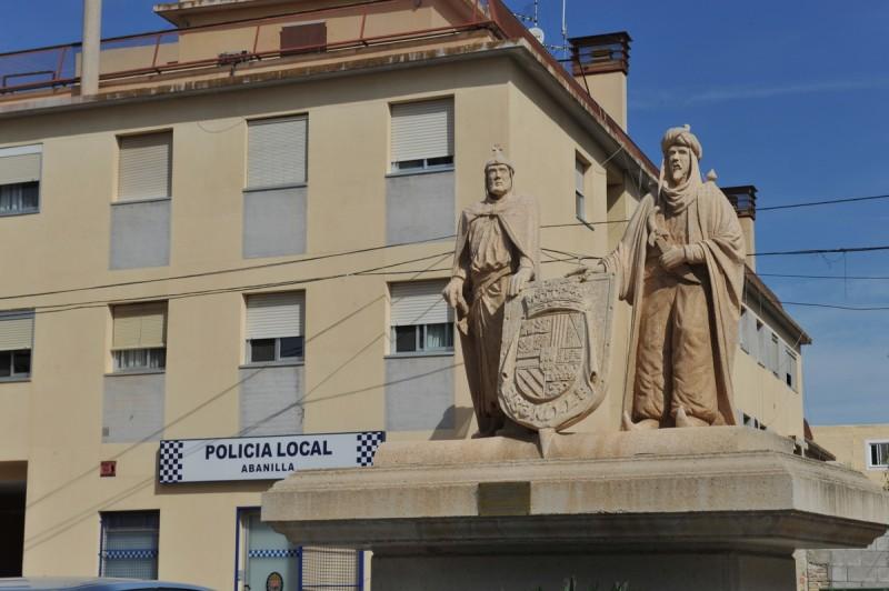 Police and Guardia Civil in Abanilla