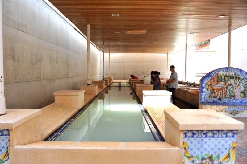 The public washhouse in Abanilla