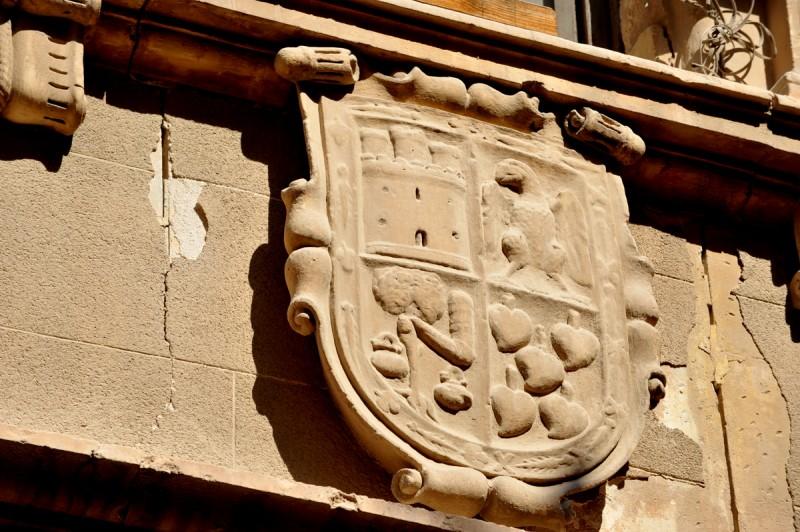 The Casa de los Pérez-Monte or Casa de los Irurita in Lorca