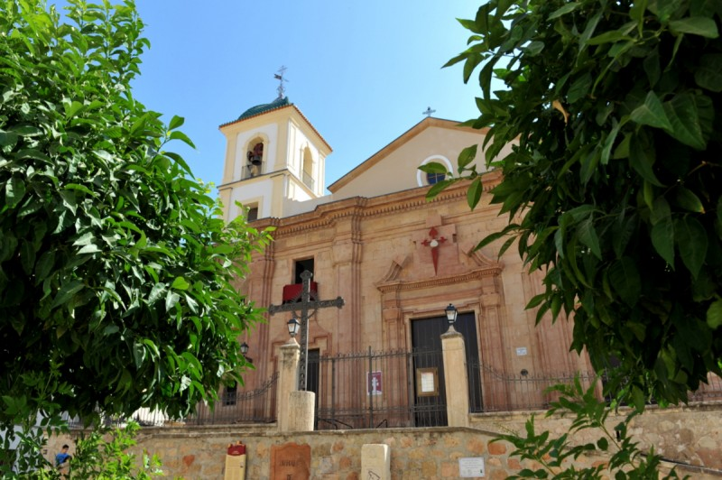 The Iglesia de Santiago in Lorca