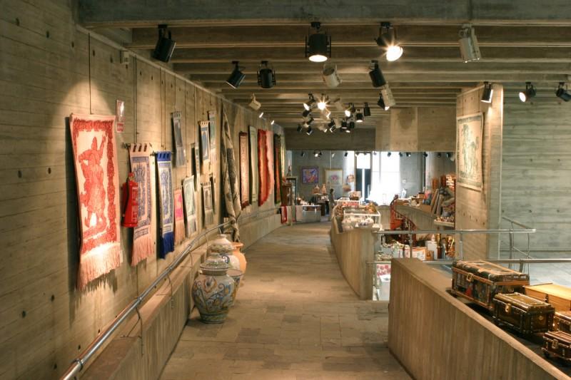 Centro para la Artesanía, regional crafts exhibition and sales centre in Lorca