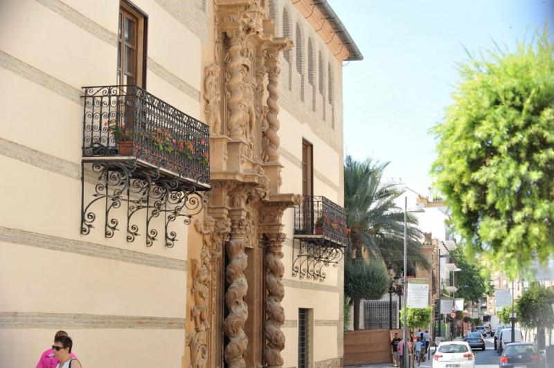 The Plaza de Concha Sandoval in Lorca