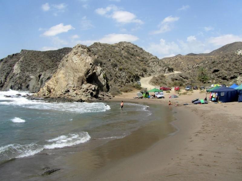 Lorca beaches: Playa del Baño de las Mujeres
