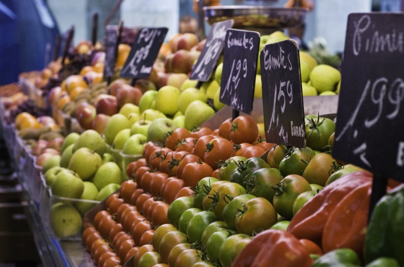 Weekly markets and daily food markets in Lorca