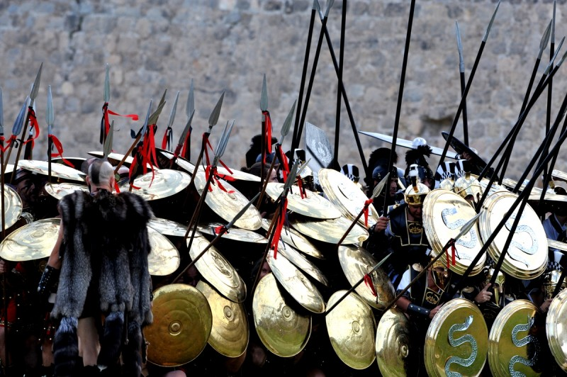 Carthaginians crushed as Romans invade Cartagena
