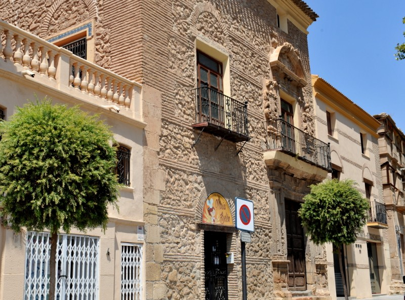 The Casa de los Mula in Lorca