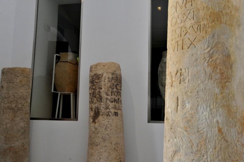 Roman milestones in Lorca