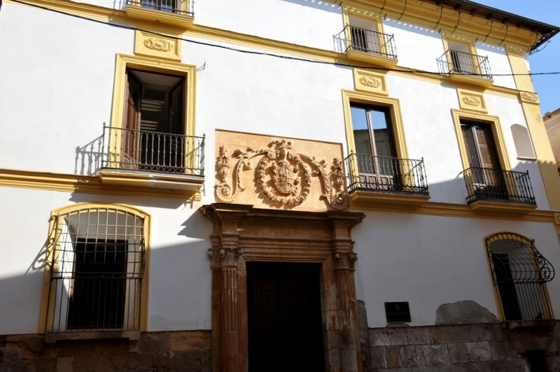 The Casa de los Alburquerques in Lorca