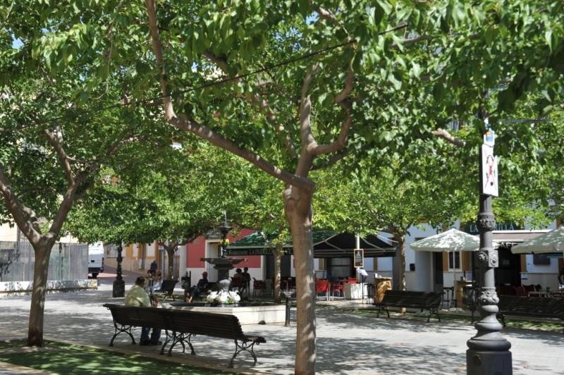 Plaza de San Vicente in Lorca