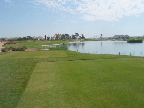 Golf course at Hacienda Riquelme