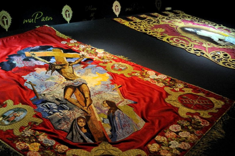 Introduction to the Lorca biblical embroideries and museums