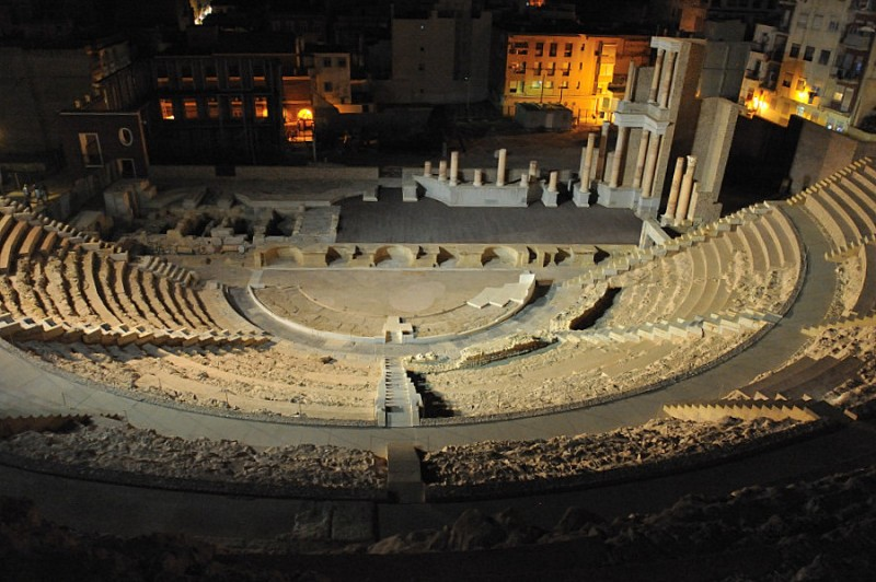 <span style='color:#780948'>ARCHIVED</span> - 8th September: Roman Theatre in Cartagena moonlight tour