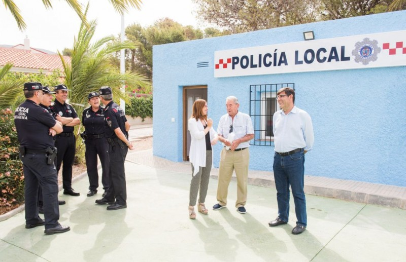 Special summer police station for La Azohía and Isla Plana
