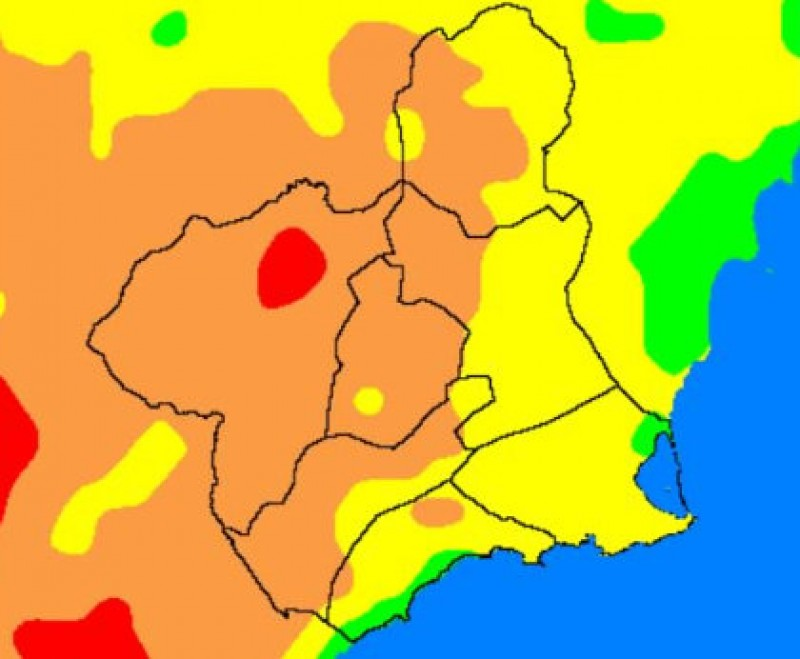 """UV factor very high and wild fire risk """"extreme"""" in north-west Murcia"""