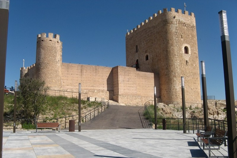 Repairs completed on old path up to Jumilla castle