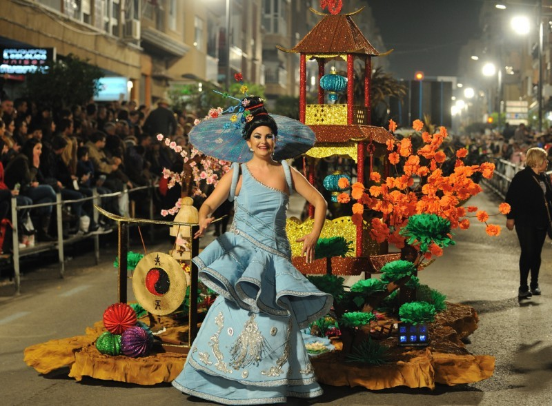 <span style='color:#780948'>ARCHIVED</span> - 28th February to 9th March 2019 Carnival in Águilas