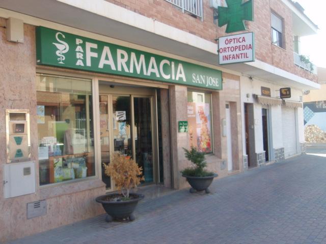 Medical centre and pharmacies Roldan
