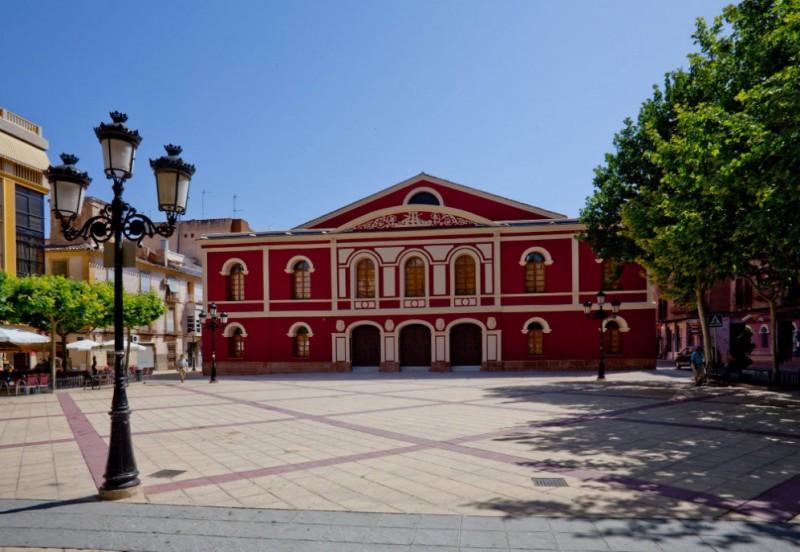 Plaza Calderón de la Barca, Lorca