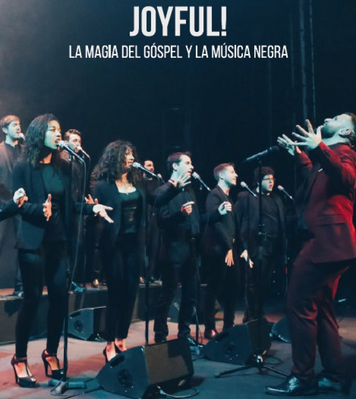 12th January, Joyful! Gospel and Soul at the Teatro Guerra in Lorca