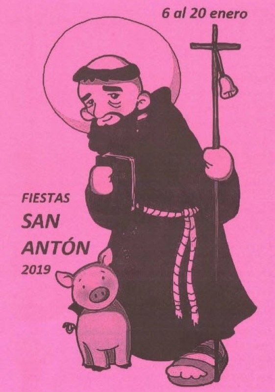 12th to 17th January Principal acts in the Fiestas of San Antón in Cartagena