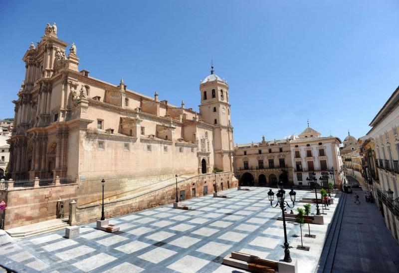 Lorca: Daily English language tours of the Church of San Patricio and the three plazas