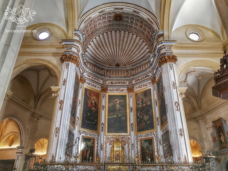 <span style='color:#780948'>ARCHIVED</span> - Lorca: Daily English language tours of the Church of San Patricio and the three plazas