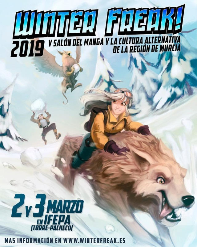 <span style='color:#780948'>ARCHIVED</span> - 2nd and 3rd March, Winter Freak Japanese pop culture fair at the IFEPA in Torre Pacheco