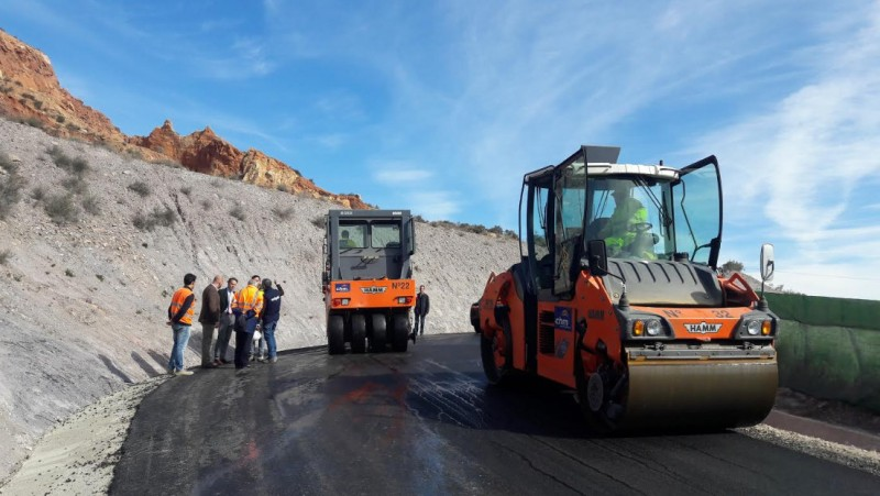 <span style='color:#780948'>ARCHIVED</span> - New Lorca castle access road set open this month