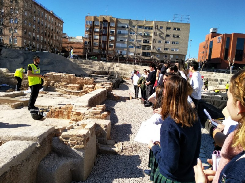 <span style='color:#780948'>ARCHIVED</span> - Free weekday guided visits to the San Esteban archaeological dig in the centre of Murcia