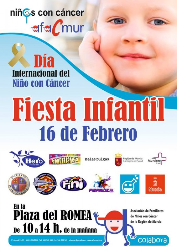 <span style='color:#780948'>ARCHIVED</span> - 16th February Murcia Children's cancer association fun day in Murcia