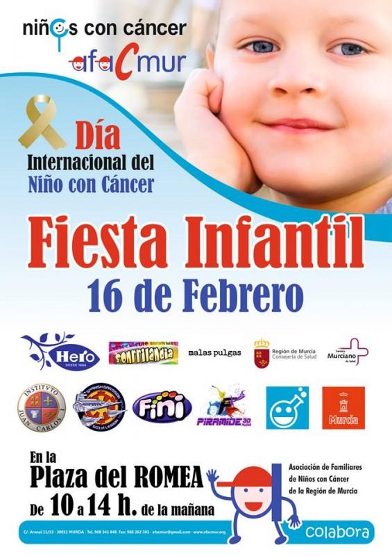 16th February Murcia Children's cancer association fun day in Murcia