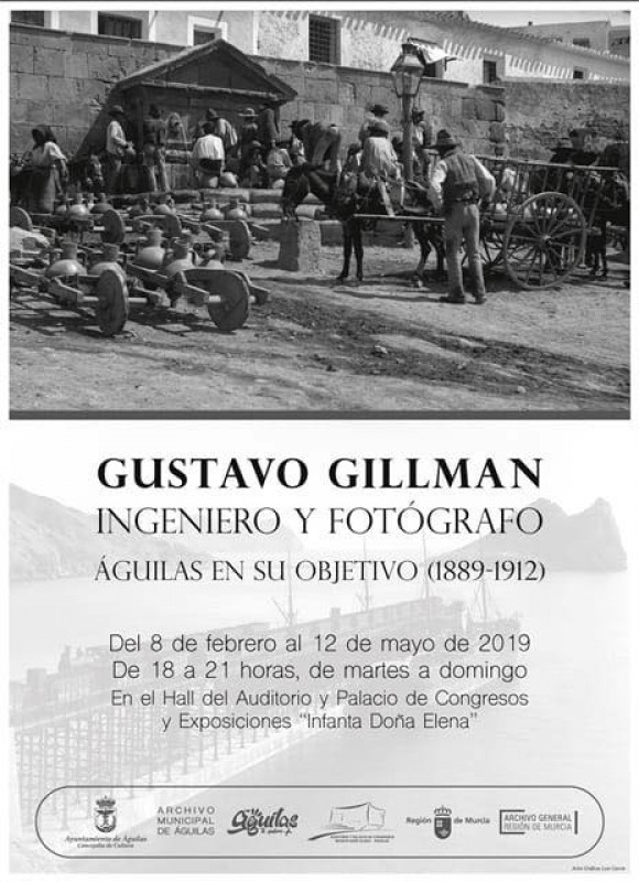 <span style='color:#780948'>ARCHIVED</span> - Gustavo Gillman: engineer and photographer in the Águilas Auditorium