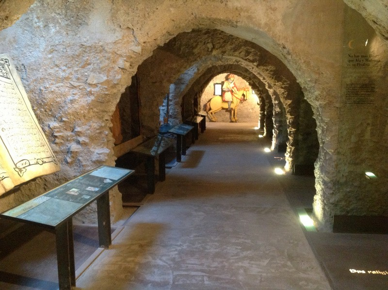 March 2019 opening hours for Lorca castle