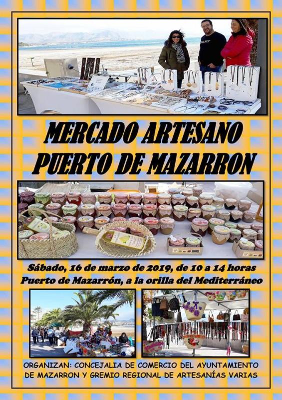 Saturday 16th March Puerto de Mazarrón artisan market