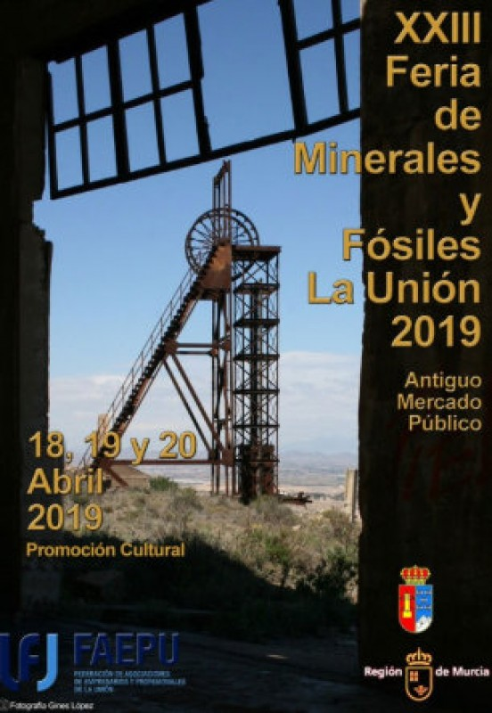 <span style='color:#780948'>ARCHIVED</span> - 18th to 20th April, La Unión Minerals and Fossils Fair