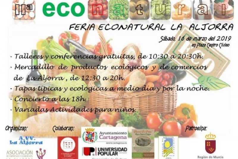 Saturday 16th March II Feria Econatural in La Aljorra